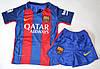 Детская футбольная форма Барселона Суарез (Suarez) 2016-2017 домашняя , фото 7