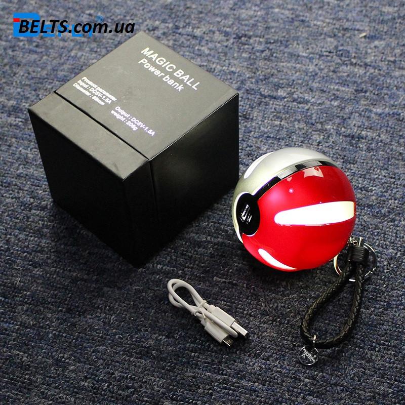 Зарядное мобильное устройство в стиле Pokemon GO (Pokeball Magic ball Power Bank 10000 мАч )