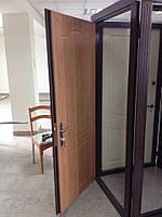 Двери входные металлические с МДФ (с одной стороны)