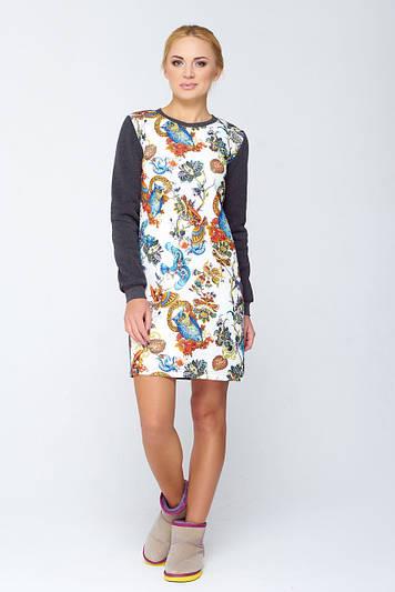 Молодежное платье casual стиля Файруз