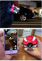 Аккумулятор для зарядки мобильного телефона Power Bank 10000 мач Pokeball, фото 1