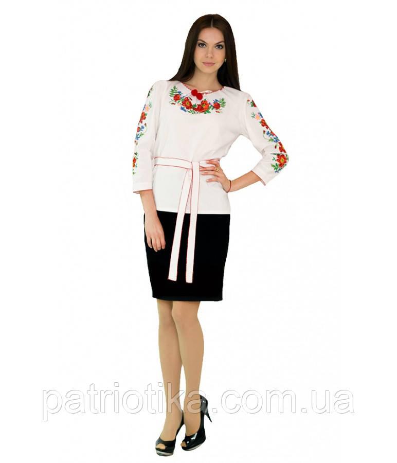 Рубашка вышитая женская М-224-1 | Сорочка вишита жіноча М-224-1