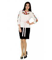 Рубашка вышитая женская М-224-1 | Сорочка вишита жіноча М-224-1, фото 1