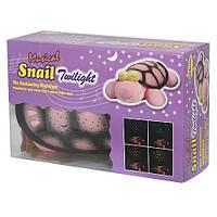 Ночник-проектор Черепаха звездное небо, Snail Twilight.