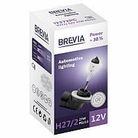 """Автомобильная галогенная лампа """"Brevia"""" (H27/2)(Power)(+30%)(3000K)(12V)(27W), фото 1"""