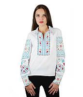 Рубашка вышитая женская М-231-2 | Сорочка вишита жіноча М-231-2