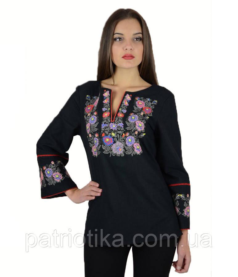 Рубашка вышитая женская М-226-3   Сорочка вишита жіноча М-226-3