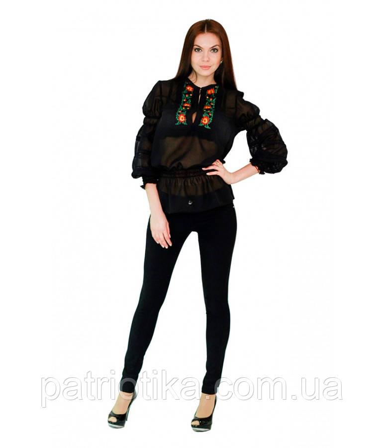 Рубашка вышитая женская М-310 | Сорочка вишита жіноча М-310