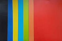 Картон Цветной Набор мелованный 17x25 см 8 шт/уп