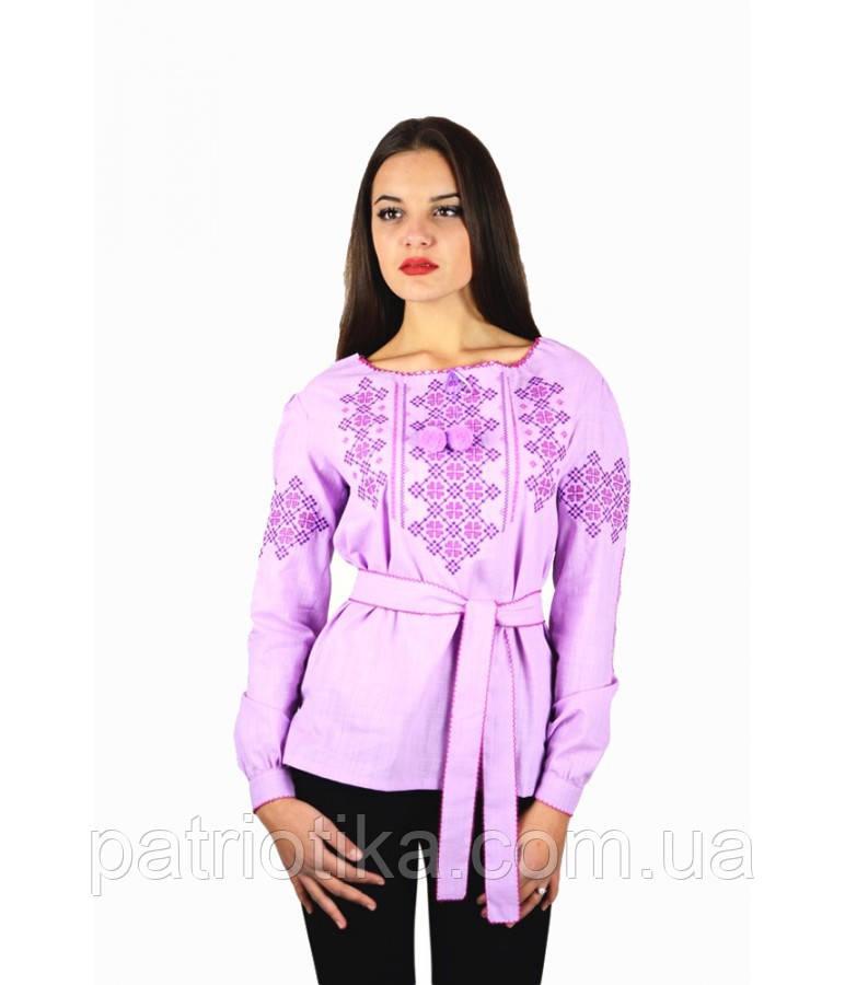 Рубашка вышитая женская М-225-3 | Сорочка вишита жіноча М-225-3