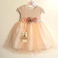 Детское нарядное платье на девочку