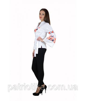 """Рубашка """"Розы"""" М-220-3   Сорочка """"Рожі"""" М-220-3, фото 2"""