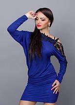Изумительно красивое оригинального покроя платье-туника, фото 3