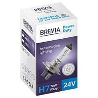 """Автомобильная галогенная лампа """"Brevia"""" (H7)(Power Duty)(24V)(70W), фото 1"""