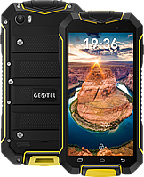 "Geotel A1, IP-67, Android 7.0, 3400 мАч, 8 Mpx, ОЗУ 1 GB, 2 SIM, GPS, 3G, дисплей 4.5"". Желтый"