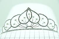 Свадебная диадема оптом в Украине. Украшения для свадьбы от Бижутерии оптом RRR. 95
