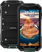 "Geotel A1, IP-67, Android 7.0, 3400 мАч, 8 Mpx, ОЗУ 1 GB, 2 SIM, GPS, 3G, дисплей 4.5"". Зеленый"
