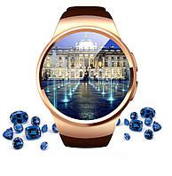Умные часы Smart Watch KW18 gold, аналог Samsung Gear S2. Камера, карта памяти