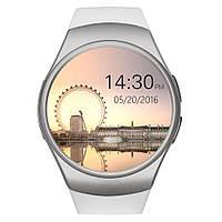 Умные часы Smart Watch KW18 silver, аналог Samsung Gear S2. Камера, карта памяти