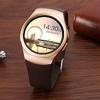 Умные часы Smart Watch KW18 Gold, аналог Samsung Gear S2.