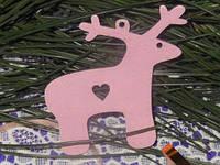 """Новогодние товары """"Розовый олень"""""""