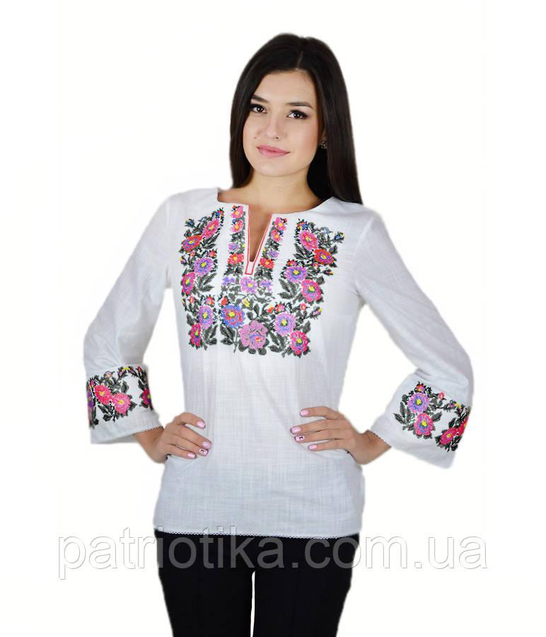 Рубашка вышитая женская М-226-4 | Сорочка вишита жіноча М-226-4