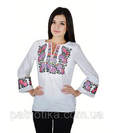 Рубашка вышитая женская М-226-4 | Сорочка вишита жіноча М-226-4, фото 2