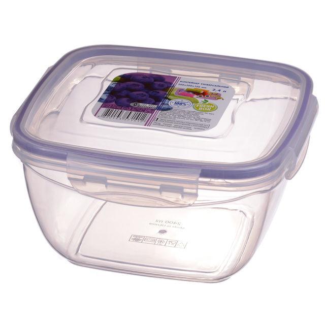 Контейнер квадратный Ал-Пластик FreshBox (2.4л)