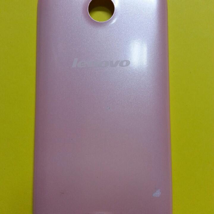 Крышка для Lenovo A376 розовая б/у