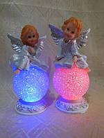 Ангел с подсветкой керамический