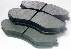 Колодки тормозные передние Ланос Нексия Леганза Нубира 14 LSA