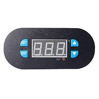 Терморегулятор -55 до +120С (плата + датчик + лицевая панель)