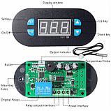 Терморегулятор -55 до +120С (плата + датчик + лицевая панель), фото 2