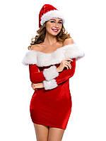 Новогодний костюм снегурочки, фото 1