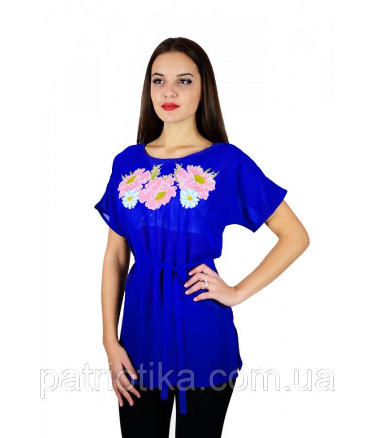 Рубашка вышитая женская М-311-5 | Сорочка вишита жіноча М-311-5
