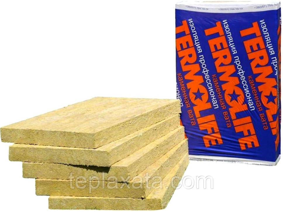 Утеплитель ТЕРМОЛАЙФ ТЛ Эко-Фасад 135 кг/м3 (50 мм)