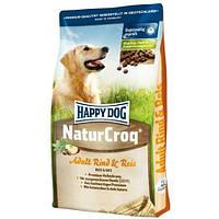 """Happy Dog """"NatureCroq"""" RIND&REIS (Говяд+Рис) 15 кг"""