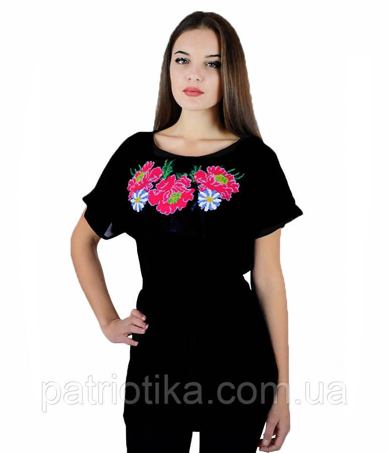 Рубашка вышитая женская М-311-8 | Сорочка вишита жіноча М-311-8