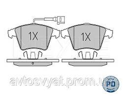 Колодки тормозные пер. VW T5 03-