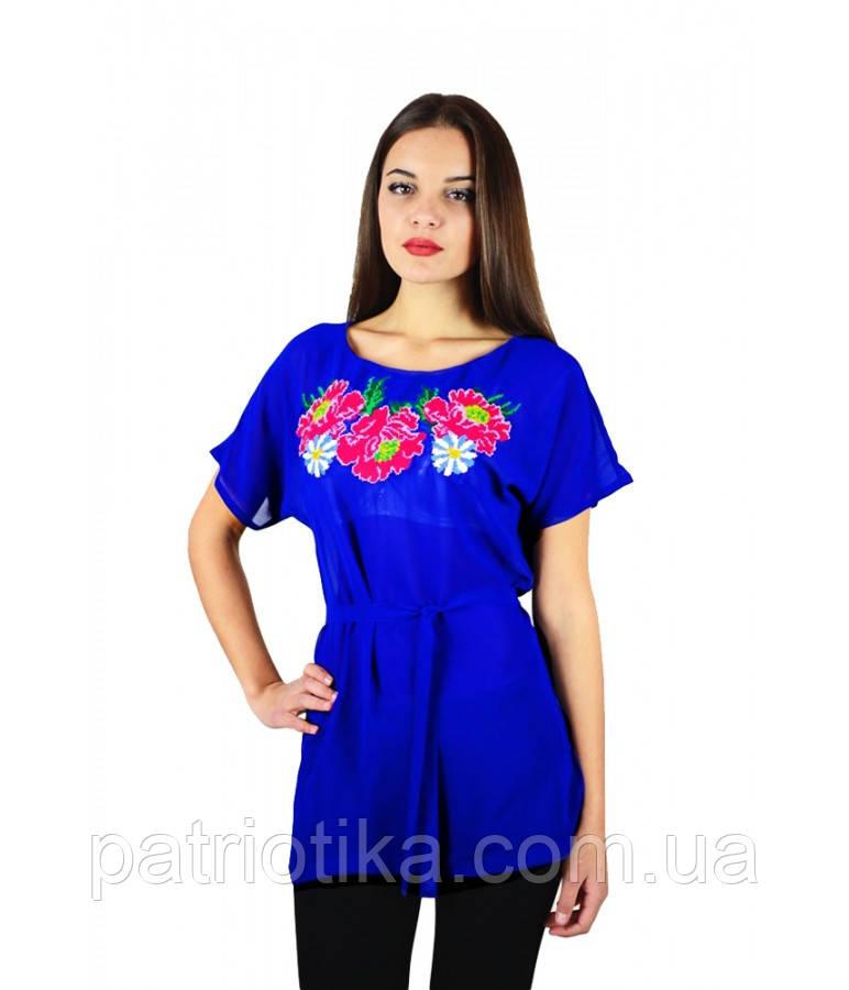 Рубашка вышитая женская М-311-4 | Сорочка вишита жіноча М-311-4