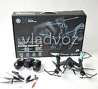 Радиоуправляемый квадрокоптер 2,4 gz Led 4 винта drone AG-01 черный