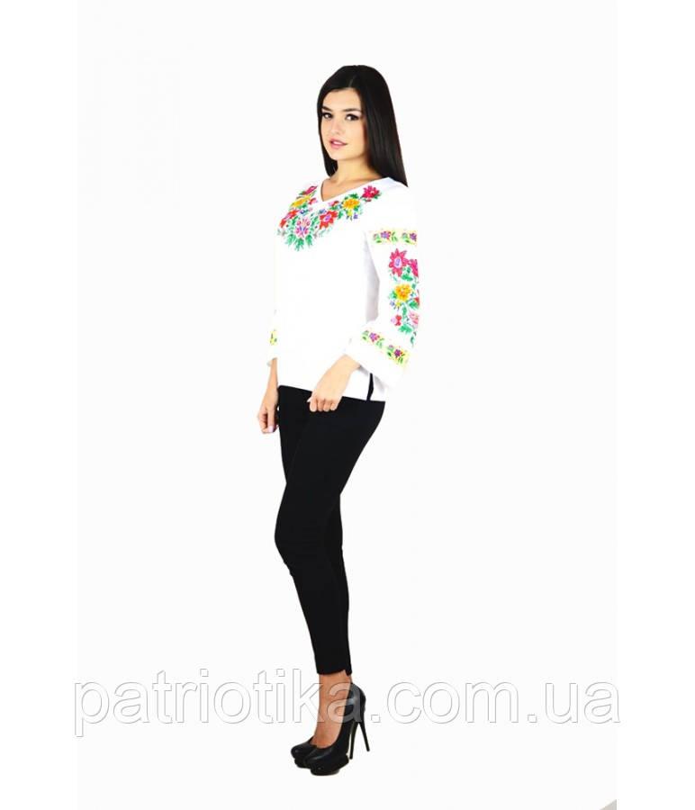 Рубашка вышитая женская М-228-1 | Сорочка вишита жіноча М-228-1