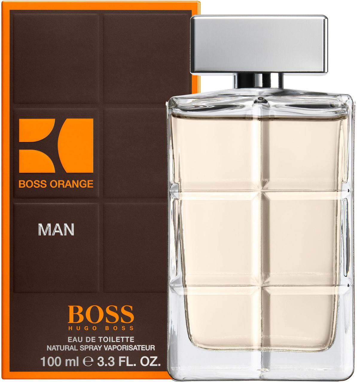 Hugo Boss Boss Orange for Men туалетная вода 100 ml. (Хуго Босс Босс Оранж Фор Мен)