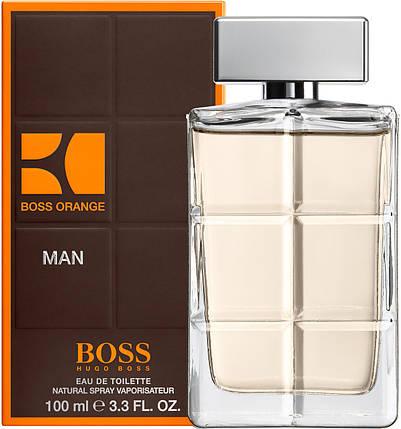 Hugo Boss Boss Orange for Men туалетная вода 100 ml. (Хуго Босс Босс Оранж Фор Мен), фото 2