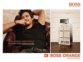 Hugo Boss Boss Orange for Men туалетная вода 100 ml. (Хуго Босс Босс Оранж Фор Мен), фото 3