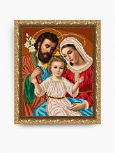 Авторская канва для вышивки бисером «Святое семейство»