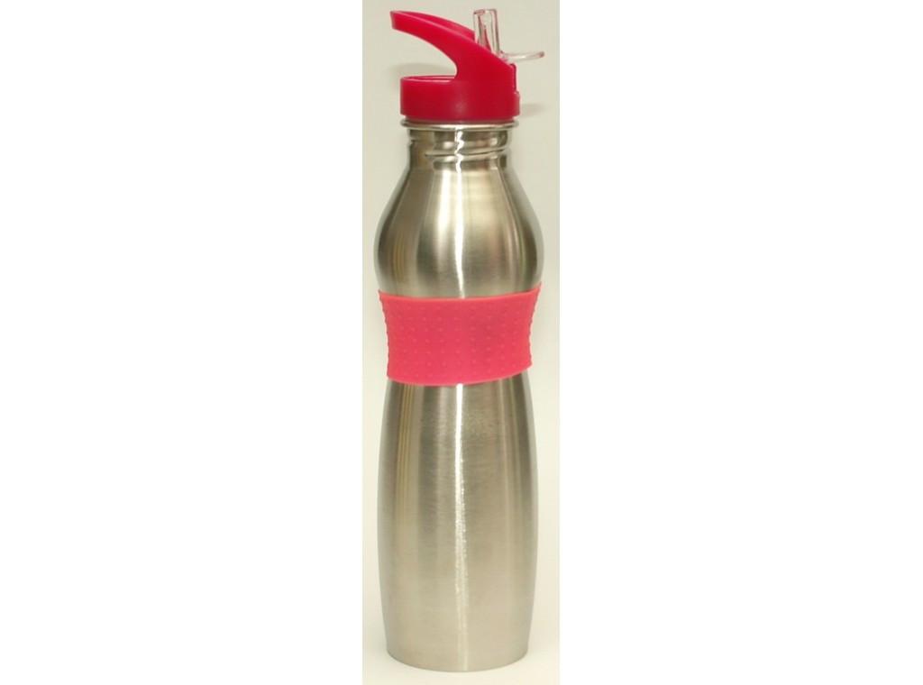 Бутылка (нержавейка) с поилкой, объем 500 мл.