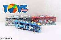 Инерционный автобус, цвета разные, M3330-6