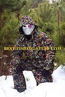 Зимний Костюм для рыбалки и охоты -32* ДЕДШОТ шишка зелёная