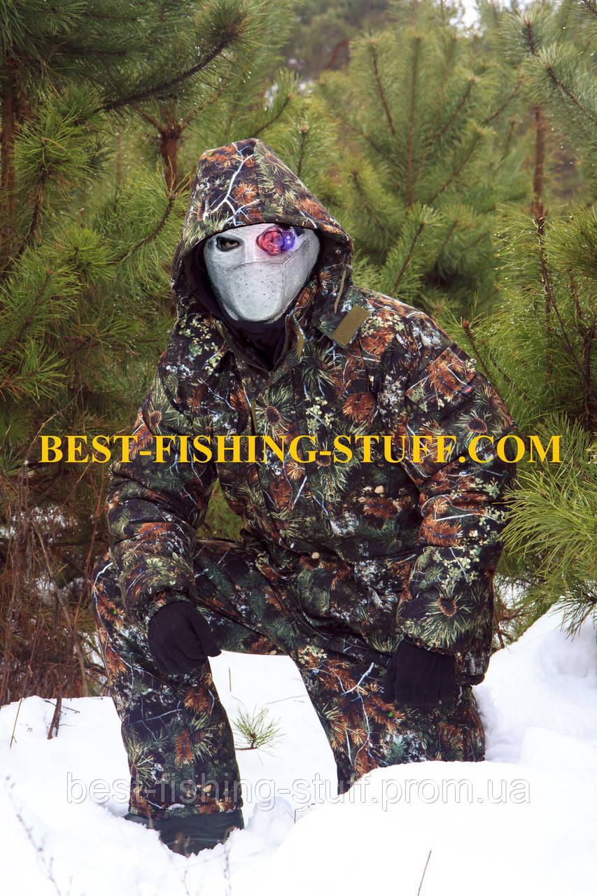 Зимний Костюм для рыбалки и охоты -40* ДЕДШОТ Усиленная Алова, фото 1
